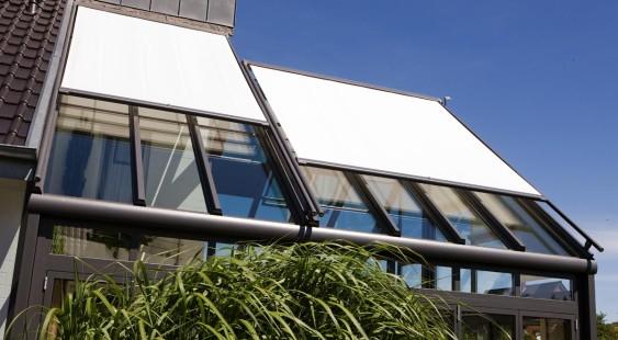 serrezonwering boven het dak